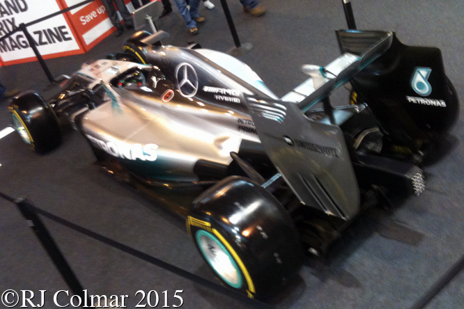 Mercedes F1 W05 Hybrid, Autosport International
