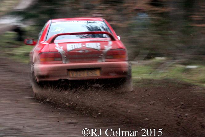 Subaru Impreza, Nigel Drew, Pauline Nash, Mailscot, Wyedean Forest Rally