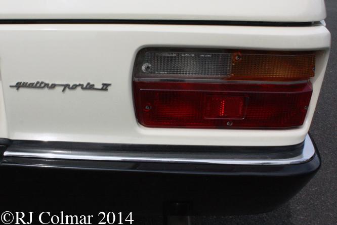 Maserati Quattroporte II Prototype, Silverstone Classic