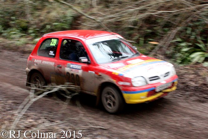 Nissan Micra, Nigel Jenkins, Kirsty Walby, Mailscot, Wyedean Forest Rally,