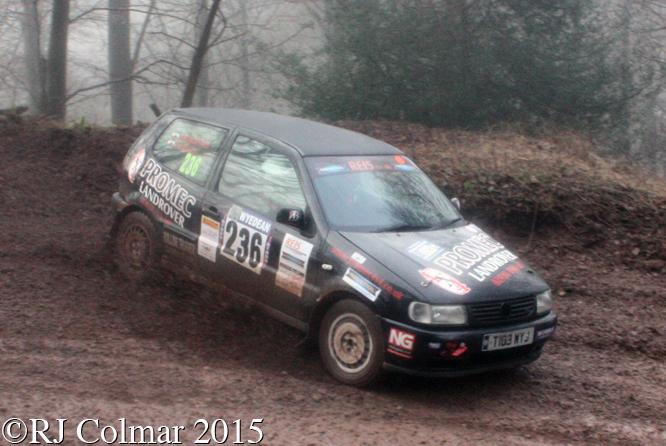Volkswagen Polo, Handford, Davies, Blaze Bailey, Wyedean Rally,