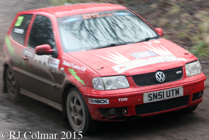 Volswagen Polo GTi, Smith, Houldsworth, Mailscot, Wyedean Rally,