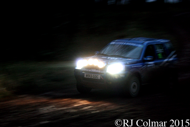 Land Rover Freelander M Sport, Spence Price, Chris Hands, Mailscot, Wyedean Forest Rally
