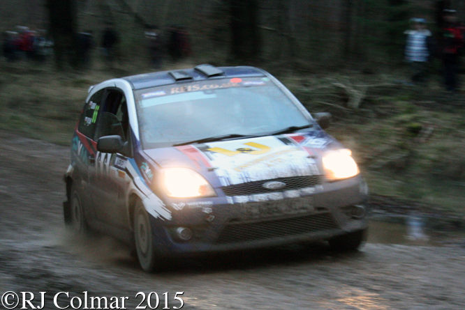 Ford Fiesta ST, Cook, Jones, Mailscot, Wyedean Rally,
