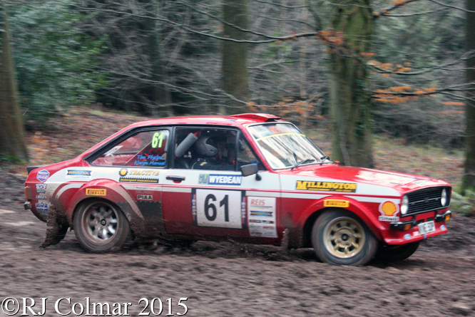 Ford Escort Mk II, Phelps, Manuel, Blaze Bailey, Wyedean Rally,