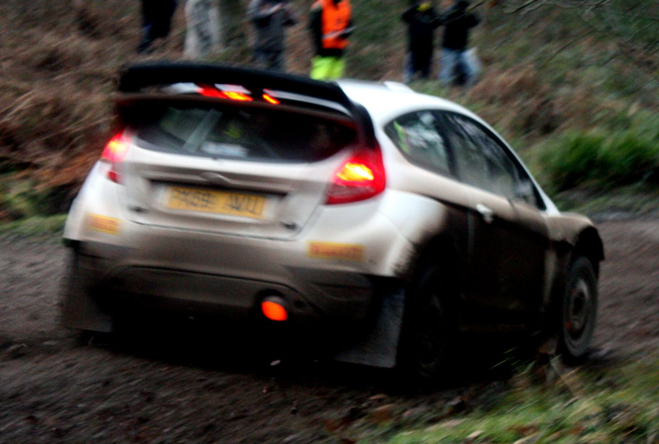 Ford Fiesta ST, Payne and Williamson, Mailscot, Wyedean Rally,