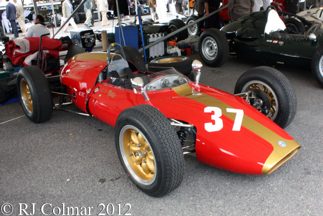 Heron Alfa Romeo, Goodwood Revival
