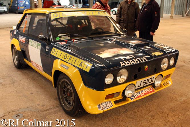 FIAT 131 Abarth, Race Retro, Stoneleigh,