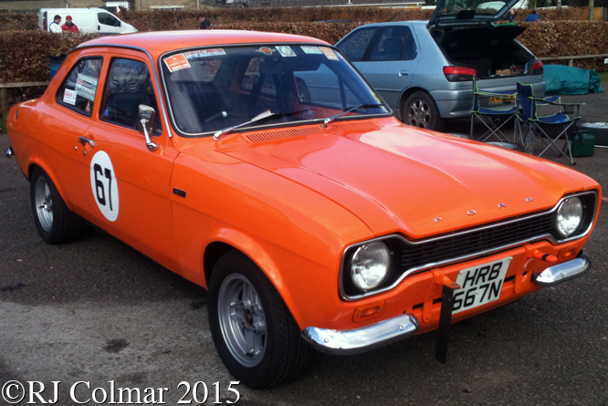 Ford Escort Mexico, Great Western Sprint, Castle Combe