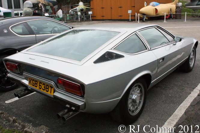 Maserati Khamsin, Auto Italia, Brooklands