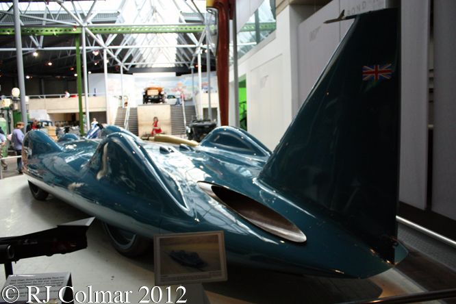 Bluebird-Proteus CN7, National Motor Museum, Beaulieu,