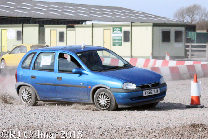 Vauxhall Corsa, Attiwell/Emery, Tavern Motor Club Washingpool Farm Targa Rally,
