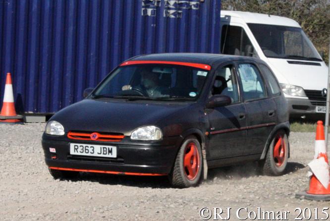 Vauxhall Corsa, Sissins/Earl, Tavern Motor Club Washingpool Farm, Targa Rally,