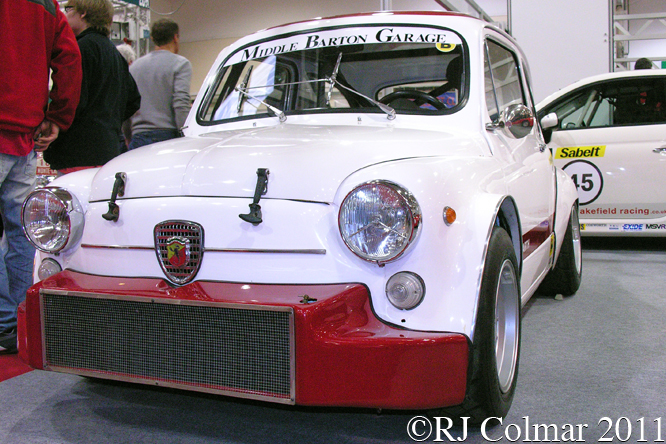 FIAT Abarth 1000 TCR, Race Retro, Stoneleigh,