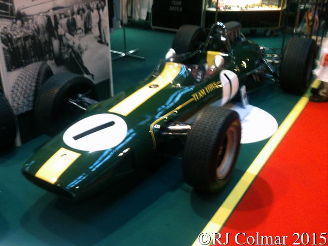 Lotus 33, Autosport International, NEC, Birmingham,