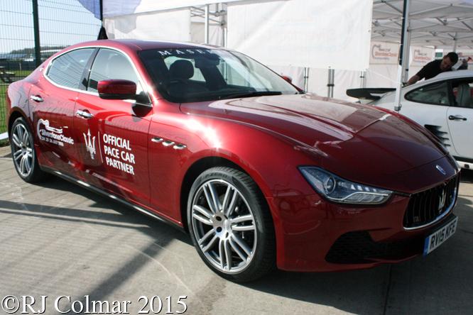 Maserati Quattroporte V, Silverstone Classic, Press Day,