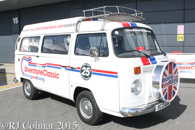 VW Type 2, Silverstone Classic, Press Day,