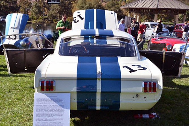 Shelby Mustang G.T. 350, Niello Concours At Serrano
