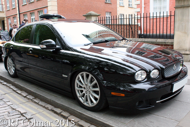 Avenue Drivers Club, Jaguar X Type S, Queen Square, Bristol,