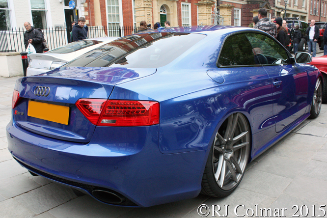 Audi RS5 Quattro, Avenue Drivers Club, Queen Square, Bristol,