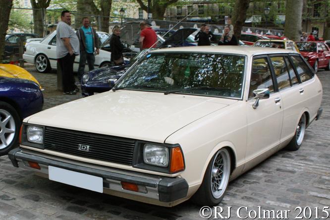 Datsun Sunny, Avenue Drivers Club, Queen Square, Bristol,