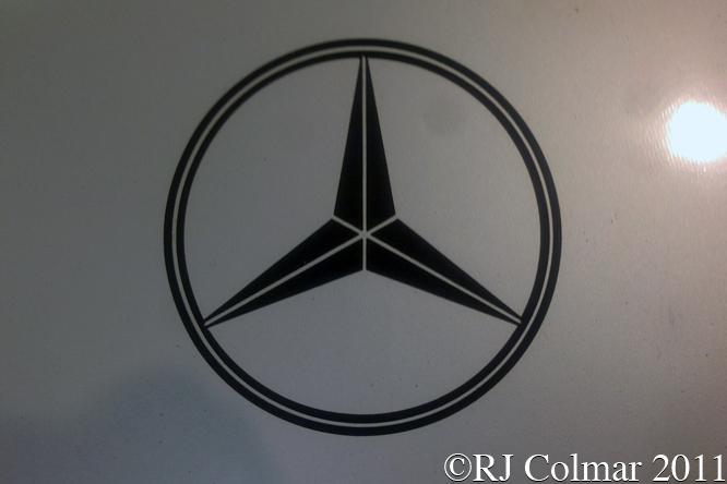 Mercedes Benz C291, Race Retro, Stoneleigh