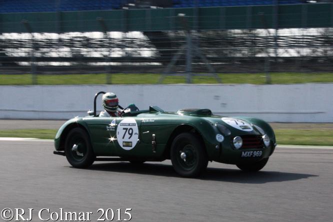 Allard J2X Le Mans, Andy Dee Crowne, Silverstone Classic, Test Day,