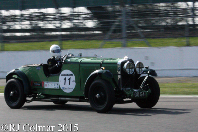 Talbot 105, Silverstone Classic Test Day,
