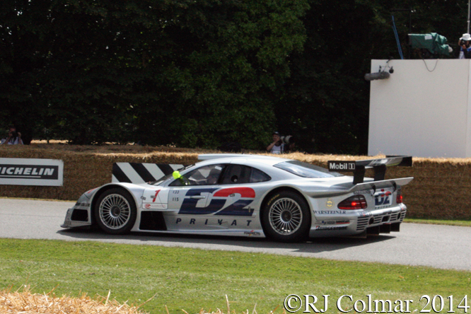 Mercedes Benz CLK-GTR, Klaus Ludwig, Goodwood Festival of Speed,