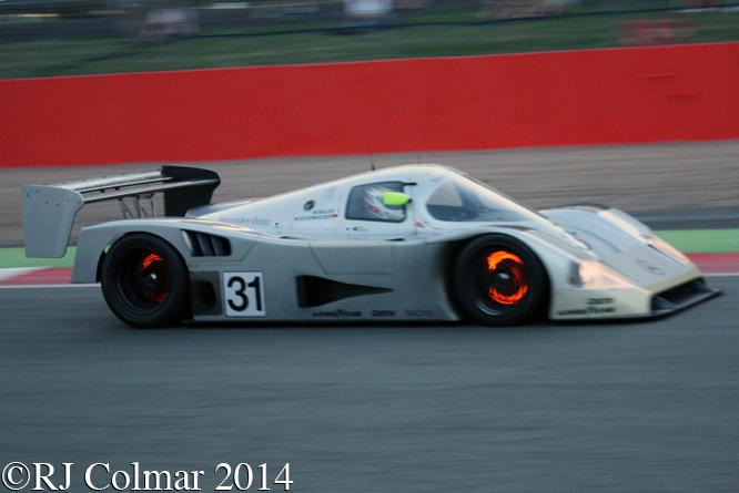 Mercedes Benz C11, Bob Berridge, Silverstone Classic,