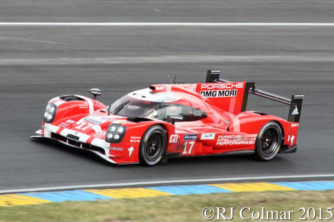 Porsche 919 Hybrid, Timo Bernhard, Brendon Hartley, Mark Webber, Le Mans
