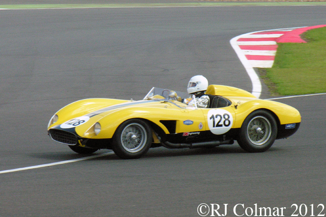 Ferrari 500 TRC, David and James Cottingham, Silverstone Classic