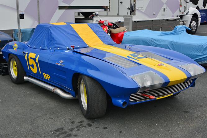 Chevrolet Corvette, Bruce Miller, Sonoma Historic Motorsports Festival,