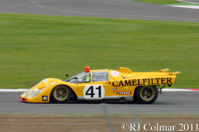 Ferrari 512M, Nathan Kinch, Silverstone Classic