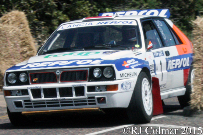 Lancia Delta Integrale Evo, Mick Wood, Bournemouth Wheels Festival,