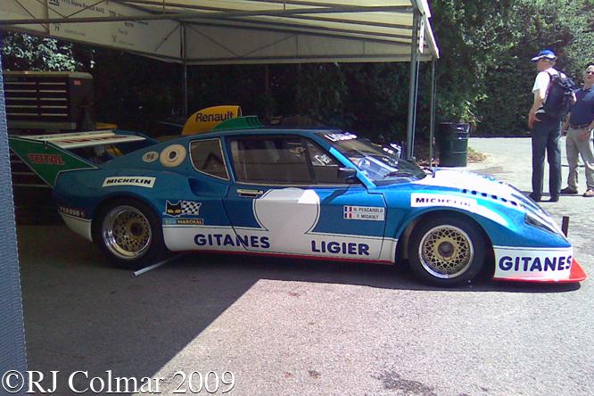 Ligier JS2, Goodwood, Festival of Speed,