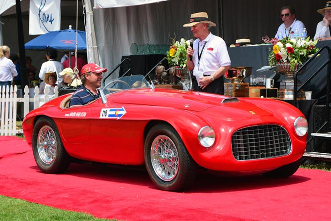 Ferrari 166 MM, Hillsborough Concours d'Elegance
