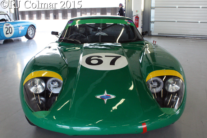 Marcos 1800 GT, Silverstone Classic, Press Day,