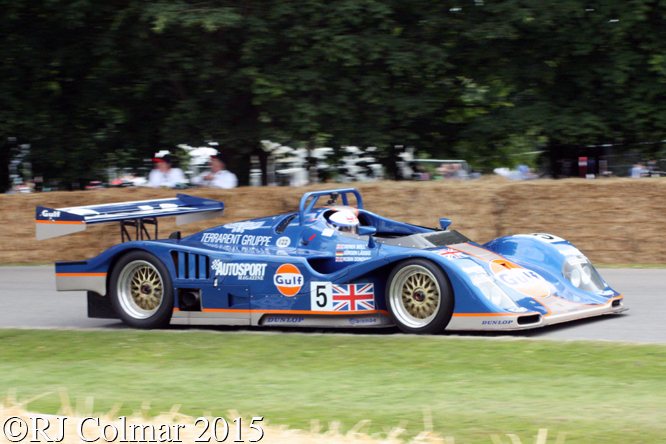 Kremer K8, Derek Bell, Goodwood Festival Of Speed,