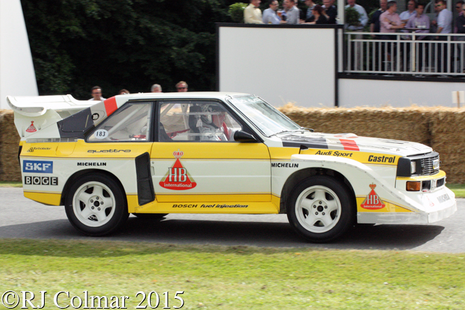 Audi Sport Quattro S1 E2, Hannu Mikkola, Goodwood Festival Of Speed,