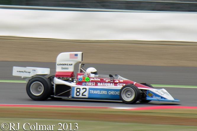 Penske PC3, Chris Drake, Silverstone Classic