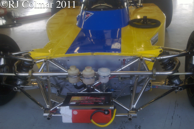 Surtees TS16, Silverstone Classic, Press Day,