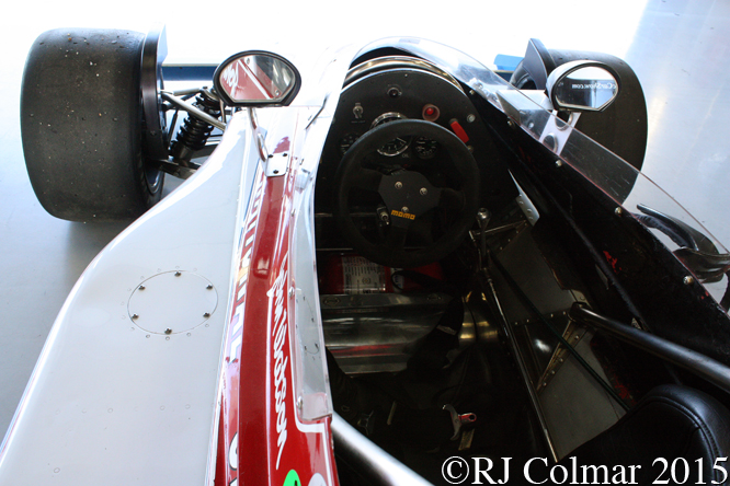 Penske PC3, Silverstone Classic, Press Day,