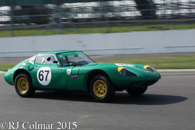 Marcos 1800 GT, Andrew Smith, Silverstone Classic, Press Day,