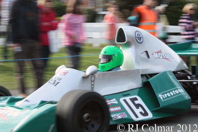 BRM P201, John Fenning, BRM Day, Bourne,