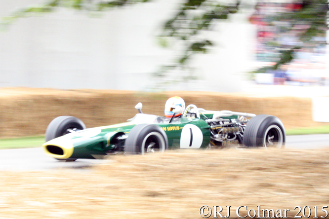 Lotus BRM 43, Andy Middlehurst, Goodwood Festival Of Speed,