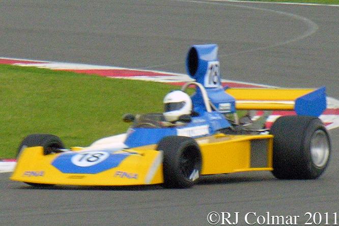 Surtees TS16, Simon Fish, Silverstone Classic, Press Day,
