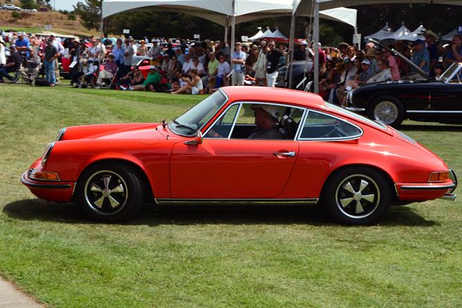 Porsche 911 E, Hillsborough Concours d'Elegance