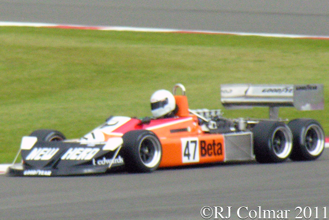 March 2-4-0, Jeremy Smith, Silverstone Classic,