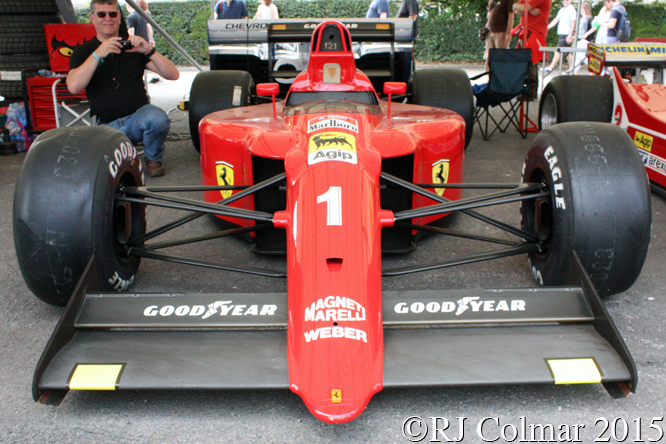 Ferrari 641, Goodwood Festival Of Speed,